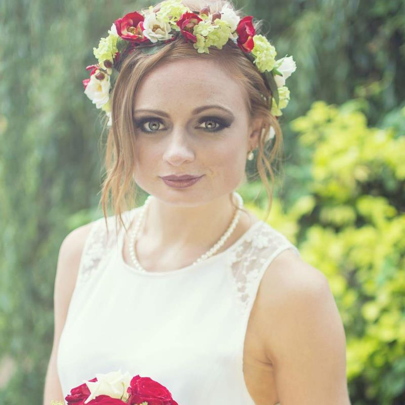 Floral Headwear handcrafted in Nottingham
