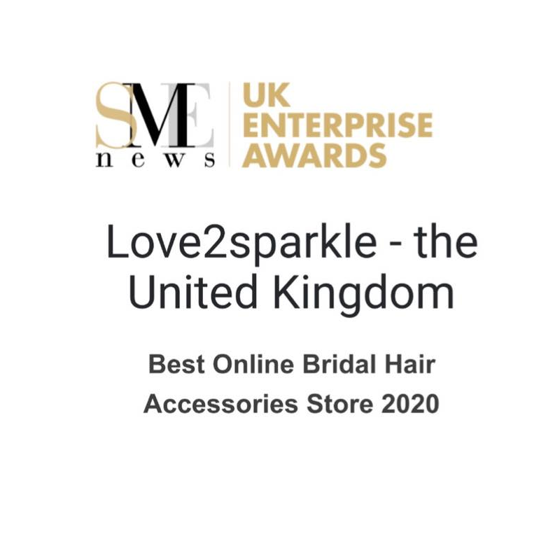 UK Enterprise Awards - Best Online Bridal Hair Accessories Store