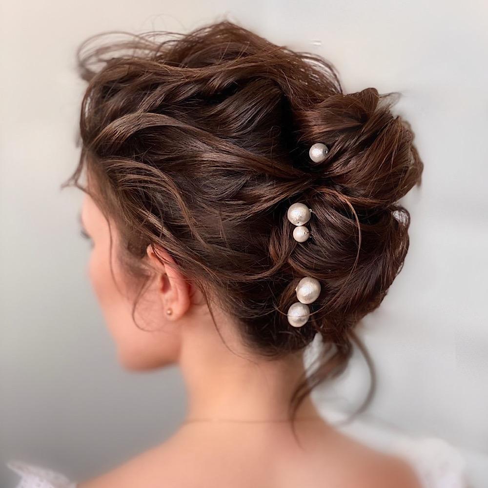 Wedding hair up style Nottingham